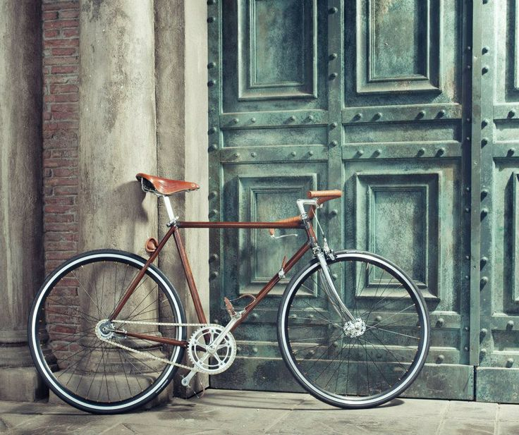 PRGA velo bike / photo by Alexander Dobrovodský: Prgavelo, 1920S Style, Prga Velo, Wooden Bike, Mountain Bike, Custom Bike, Wooden Custom, Art Deco, Style Blog