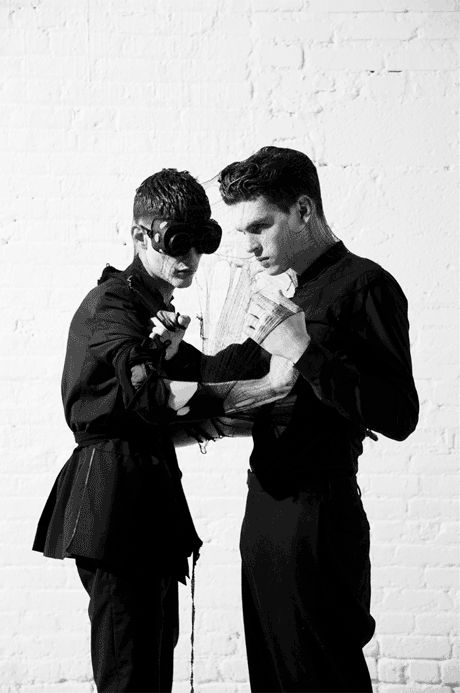iPAD editorial shot by Pierre Debusschere and styled by Nicola Formichetti.