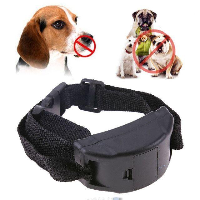 Electricial Dog Anti Bark Collar Training Collars Pet Trainer Vibration Shock Collar for Small Medium Large Dogs Behavior Aids