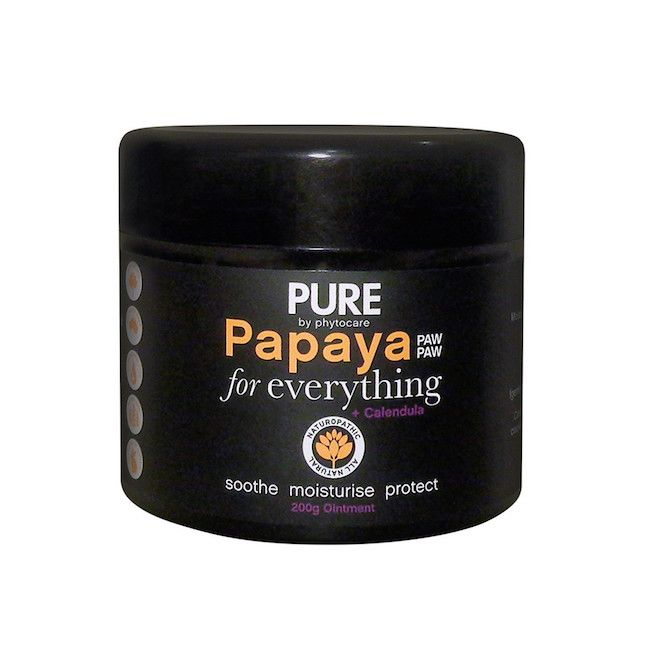 Add some papaya ointment to your beauty stash.