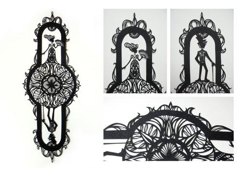 Jt Yean: tesoura, estilete, papel e uma ideia na cabeça.