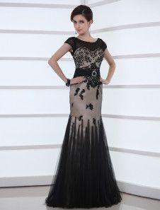 Laço Applique preto casamento vestido sereia ilusão decote cetim faixa