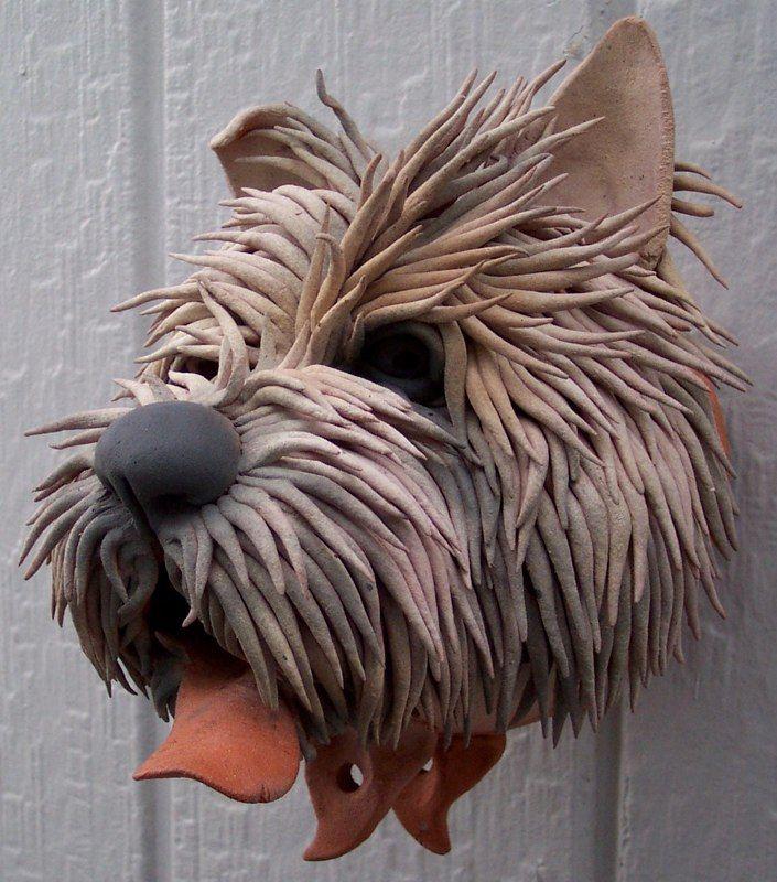 Douglas Fey pottery dog.