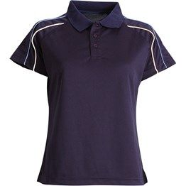 Ladies Polo. 185GSM 100% Double Mercerised Cotton super soft fell polo with raglan sleeves, contrast sleeve piping at front and back. Side spits at hem with Herringbone Tape. This polo's comes with loose pocket (we can attached pockets for you) http://catalogue.davarni.com.au/Products/Search/?textSearch=polo+shirts