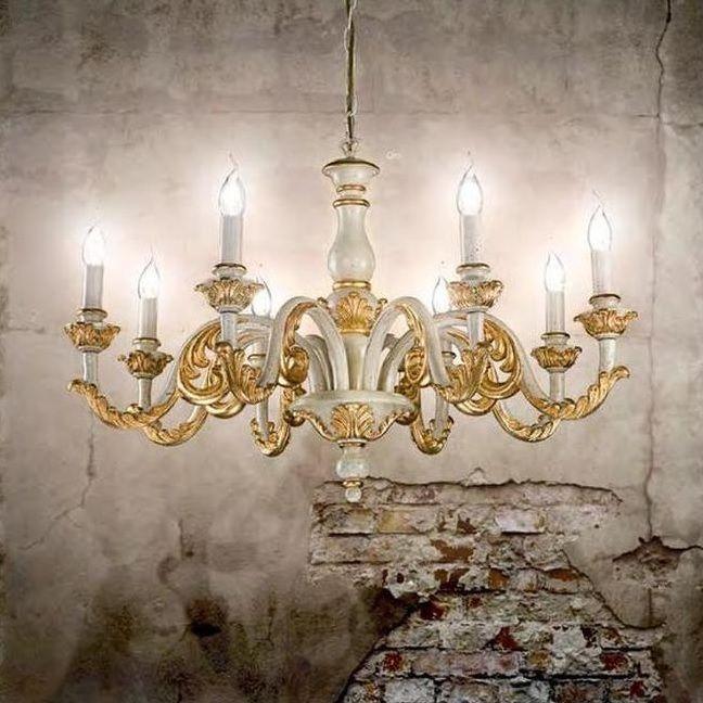 Κρεμαστός #πολυελαιος σε κλασσικό στυλ από την εταιρία Ideal Lux με κορμό από ρητίνη σε opal λευκό χρώμα διακοσμημένο με χειροποίητες μεταλλικές λεπτομέρειες σε χρυσό χρώμα. Επιλέξτε τον και βάλτε στο σαλόνι σας την #πολυτελεια που του ταιριάζει. Για περισσότερη οικονομία στην κατανάλωση ενέργειας επιλέξτε λαμπτήρες #LED: http://kourtakis-lighting.gr/36-lamptires-led-E14