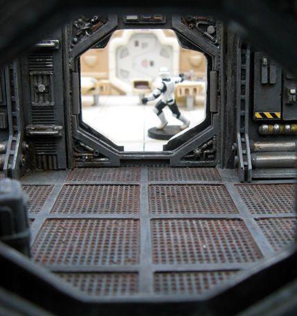 Les 25 meilleures id es de la cat gorie artisanat d for Interieur vaisseau star wars