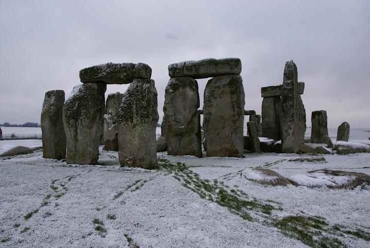 Stonehenge by Snow...