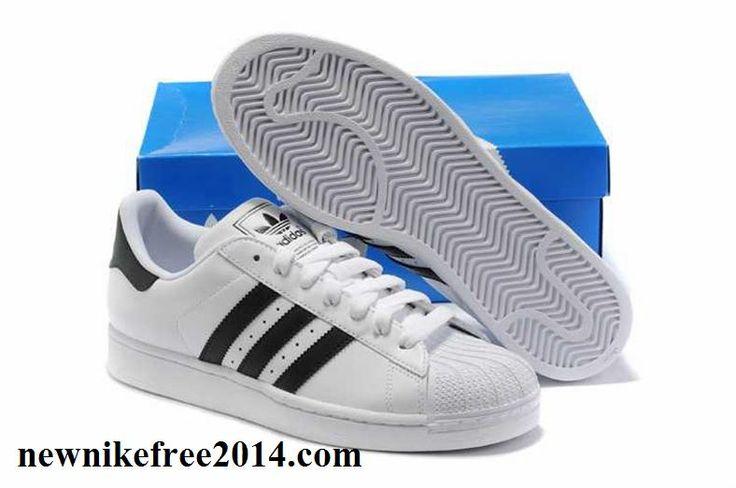 Fashion Adidas Superstar II White Black E For Women.s Running ...