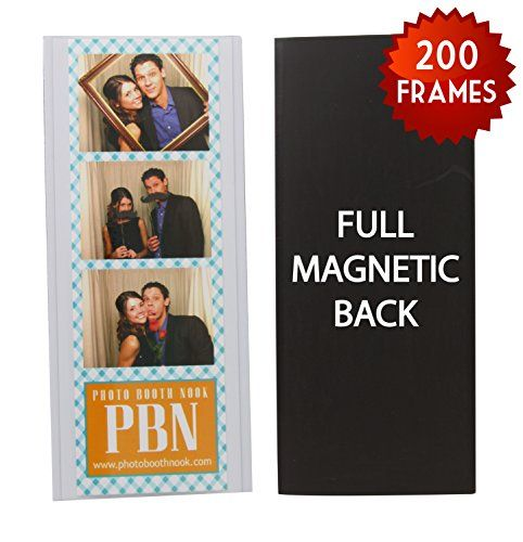 200 Magnetic Photo Booth Frames for 2 X 6 Photo Strips *** You can get more details by clicking on the image.