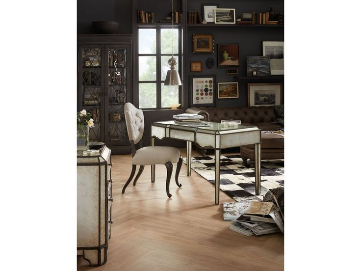 Shop For Hooker Furniture Arabella Mirrored Writing Desk, And Other Home  Office Desks At Howell Furniture In Beaumont And Nederland, TX And Lake  Charles, ...