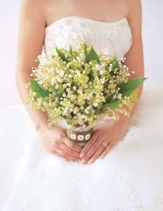 Spring Wedding Flowers: Lily of the Valley | Spring Wedding Ideas | Spring Flowers Pictures | Free Wedding Flower Guides