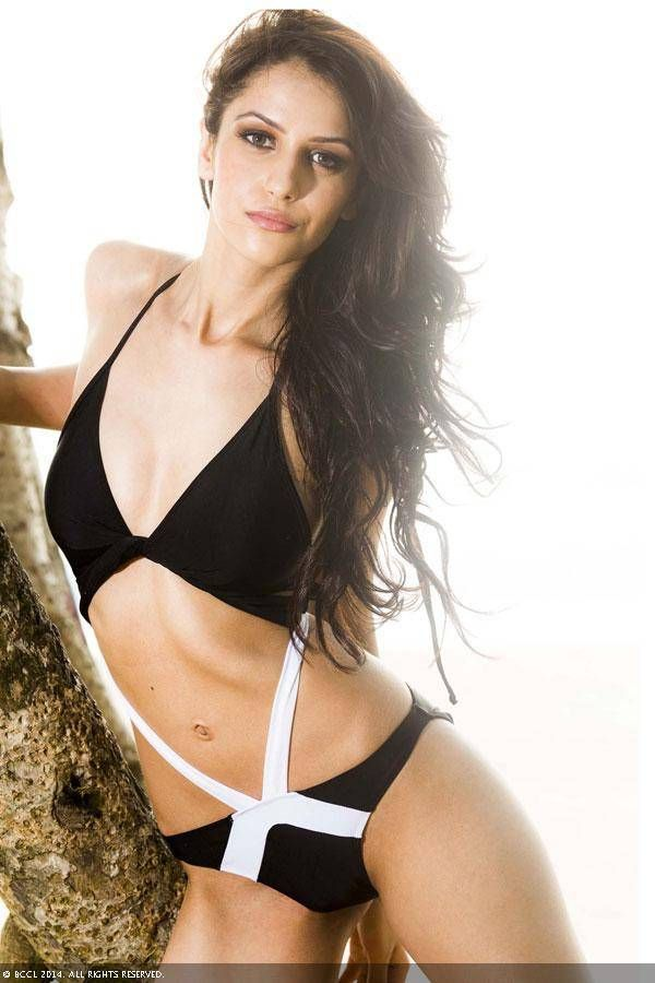 fbb Femina Miss India 2014 Koyal Rana strikes a pose in a bikini. (Pic credit: Appurva Shah)