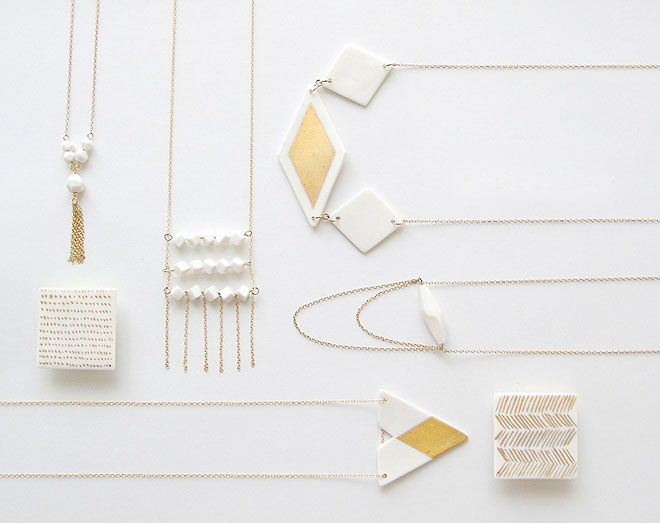 Porcelain Jewellery / Loumi