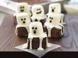 Halloween Spooky Boo Brownies