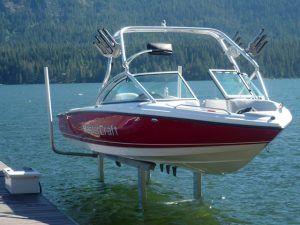 SunLift, MasterCraft, boat lift