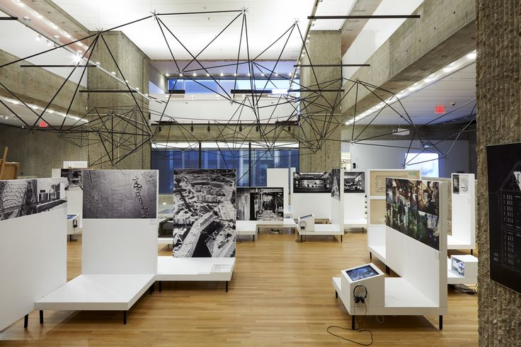 A view from Oskar Hansen: Open Form exhibition, photo by Rich House Photography, courtesy Yale School of Architecture Gallery