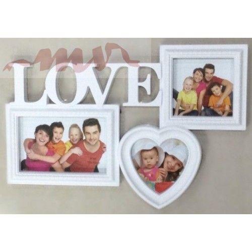 Rama foto colaj Love - 3 foto