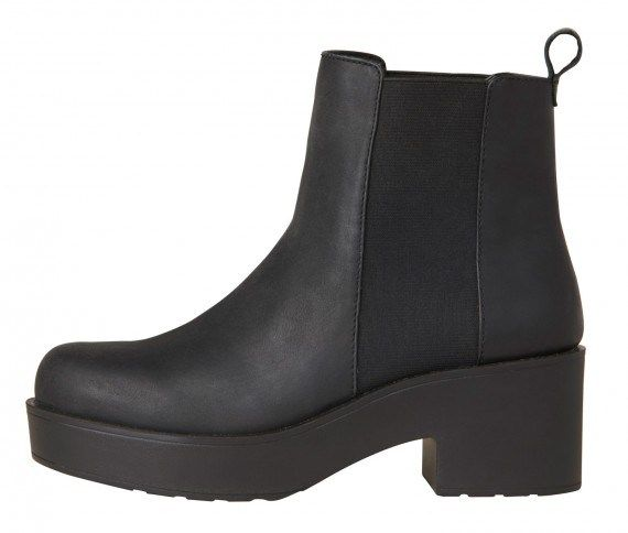 Eagar Black Leather Boots by Windsor Smith