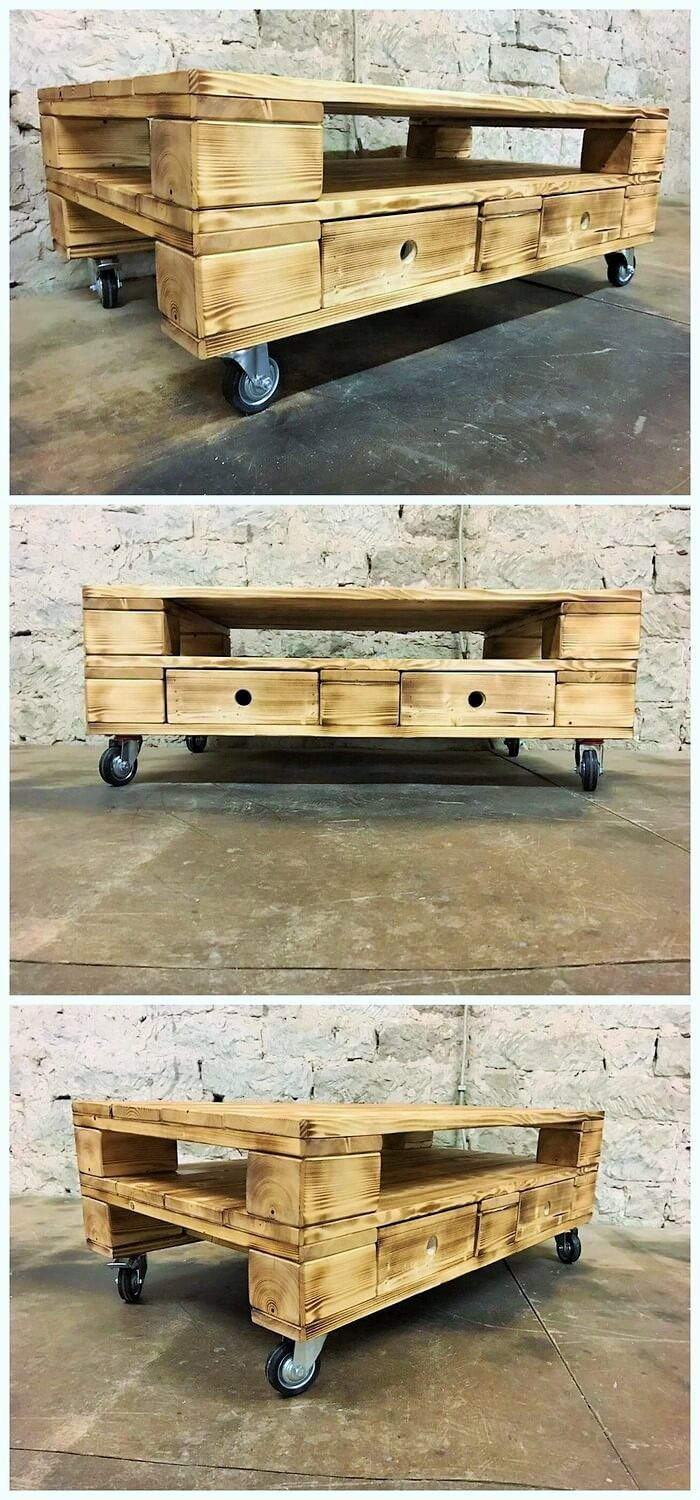 Moving Tables Are The Best Why Because They Can Be Moved From One Place To Another Quite Easily You Don T Pallette Furniture Moving Furniture Wooden Pallets