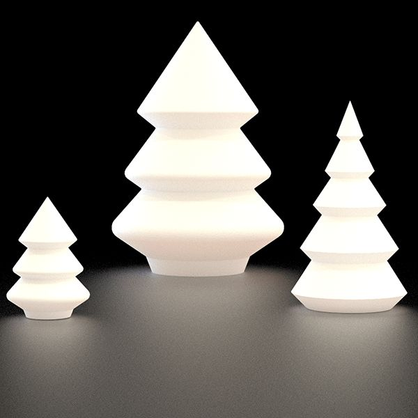 Sapin lumineux alba chang 39 e 3 design and medium - Sapin design lumineux ...