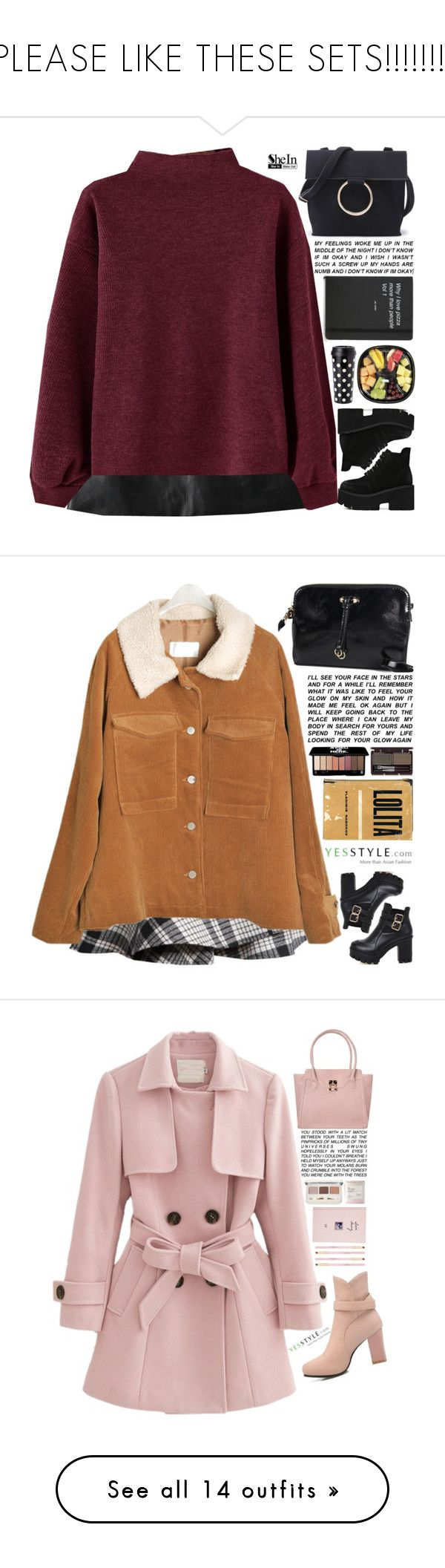 """""""PLEASE LIKE THESE SETS!!!!!!!!"""" by scarlett-morwenna ❤ liked on Polyvore featuring Kate Spade, vintage, Winter, yesstyle, ANS, ASOS, Etude House, Rough Fusion, WithChic and Muji"""