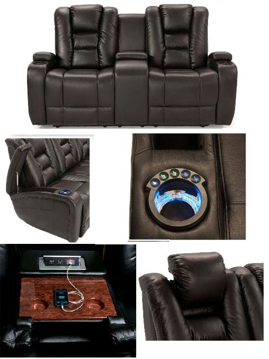 Hidden storage lighted cupholders center console with power and a USB port power recliners u0026 adjustable lighted headreu2026 | Pinteresu2026  sc 1 st  Pinterest & All the bells u0026 whistles! Hidden storage lighted cupholders ... islam-shia.org
