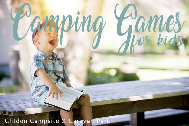 Five Camping Games for Kids:  Here are 5 camping games for kids that take little to no setup here.  Plus, you don't have to pack extra stuff from home to bring to Clifden Campsite and Caravan Park! For more ideas for camping with your family visit www.thedatingdivas.com/101-camping-kids-ideas/
