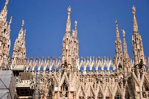 The Top Tourist Attractions in Milan, Italy: Duomo or Cathedral of Milan
