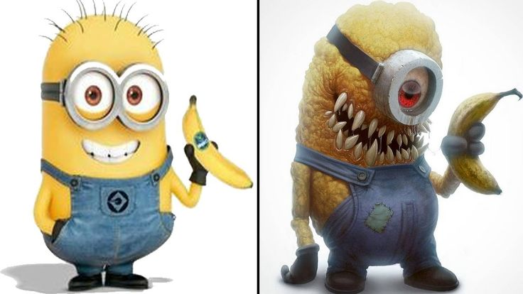 10 KIDS CARTOON Characters REIMAGINED as MONSTERS!