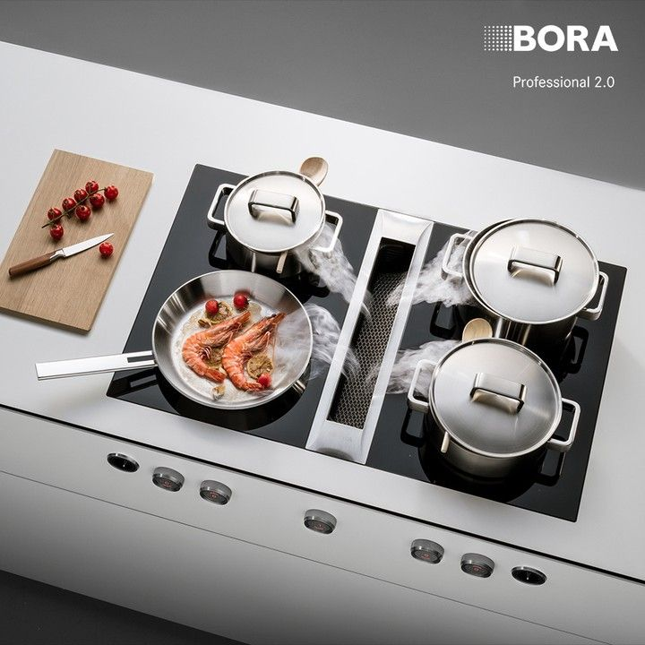 Bora Cooking Systems On Instagram Bora Stands For Innovation And Creativity In The Kitchen And Bora Professional 2 0 Is The Be Cooking Island Cooktop Kitchen