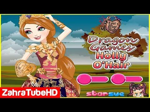 Dragon Games Holly O'Hair   Monster High Draculaura   Dress Up Games
