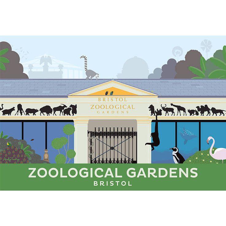 Bristol Zoo Print