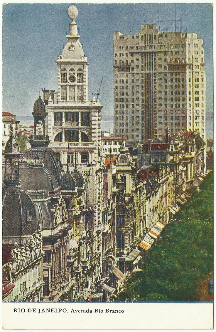 Rio de Janeiro (1930's): Avenida Rio Branco