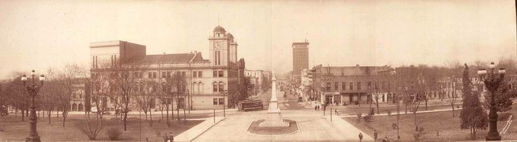 Downtown Columbia early 1900's
