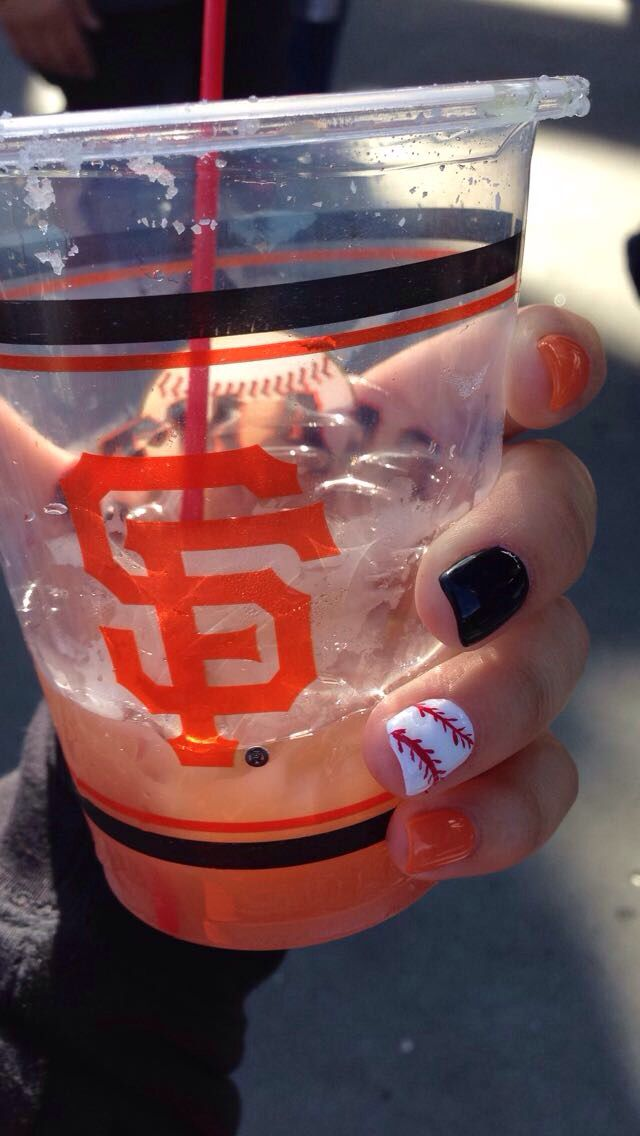SF Giants nails :)