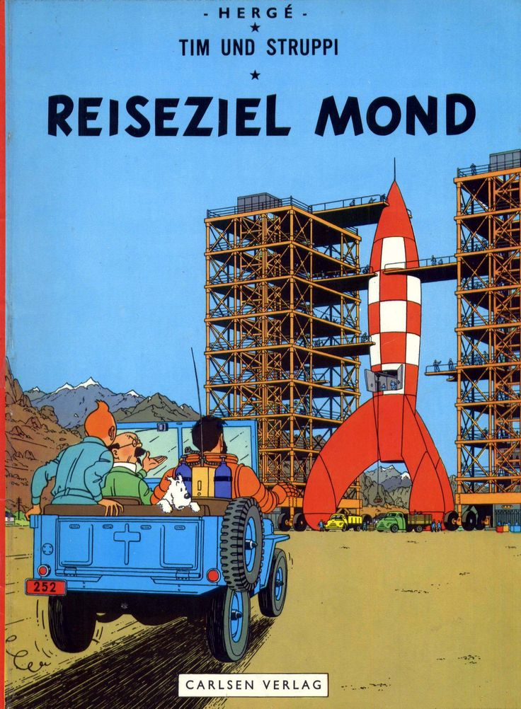 https://flic.kr/p/pVZfvb | Carlsen 1507 | Hergé - Tim und Struppi: Reiseziel Mond 6th print D 1976 Original Titel: Tintin - Objectif Lune