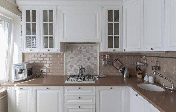 Как правильно выложить плиткой кухонный фартук | Свежие идеи дизайна интерьеров, декора, архитектуры на INMYROOM