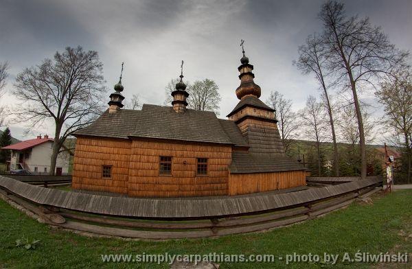 Greek Catholic church, Beskid Niski, Poland.  www.simplycarpathians.com