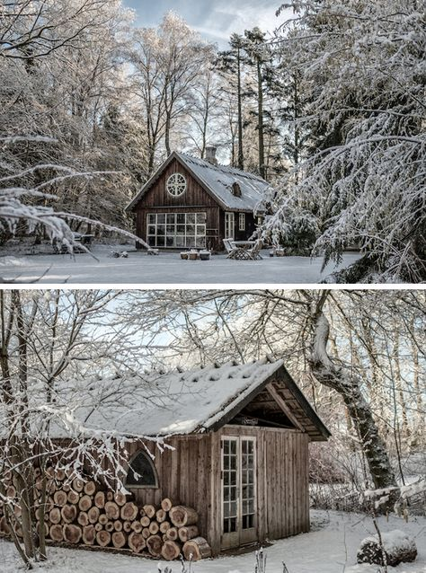 A COZY WOODEN CABIN IN DENMARK