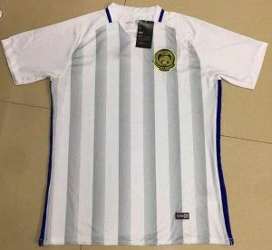 Malaysia National Team 2017 Away White Soccer Jersey [I883]