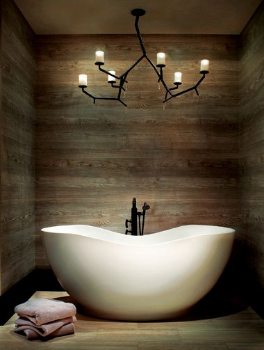 Photo of the Month: Blissful Bath | Mountain Living this is stunning.