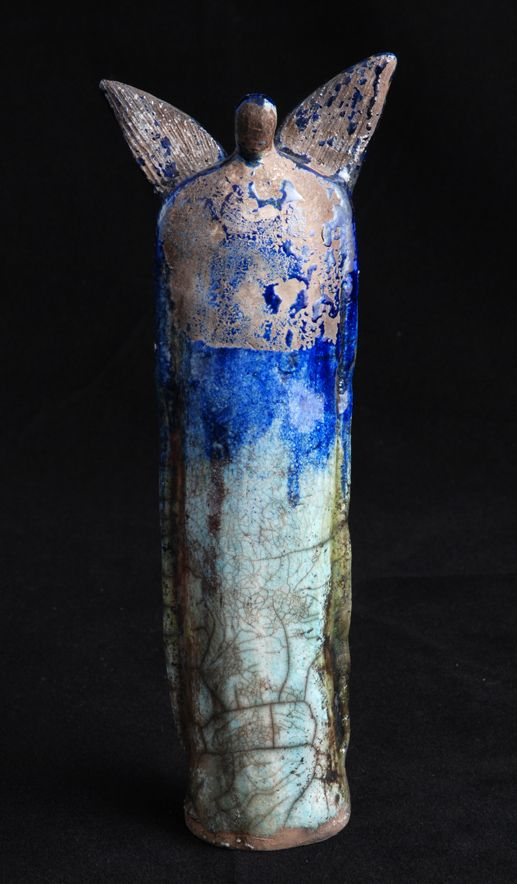 ☥ Figurative Ceramic Sculpture ☥  Elizabeth Rollins-Scott | Guardian Angel II