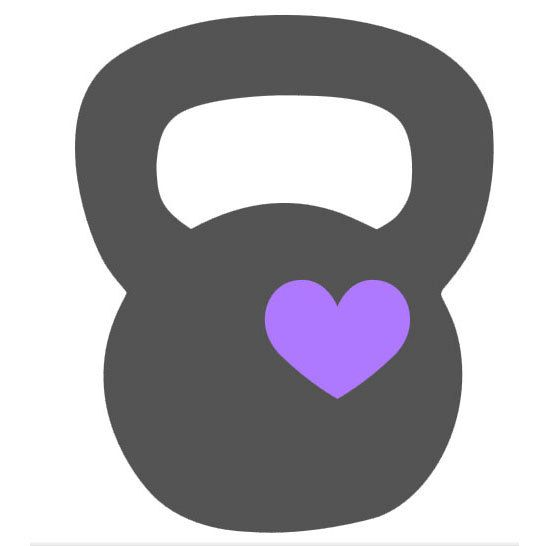 Kettlebell Love 4 or 6 vinyl decal for Crossfit by ExpressiveCuts, $5.00