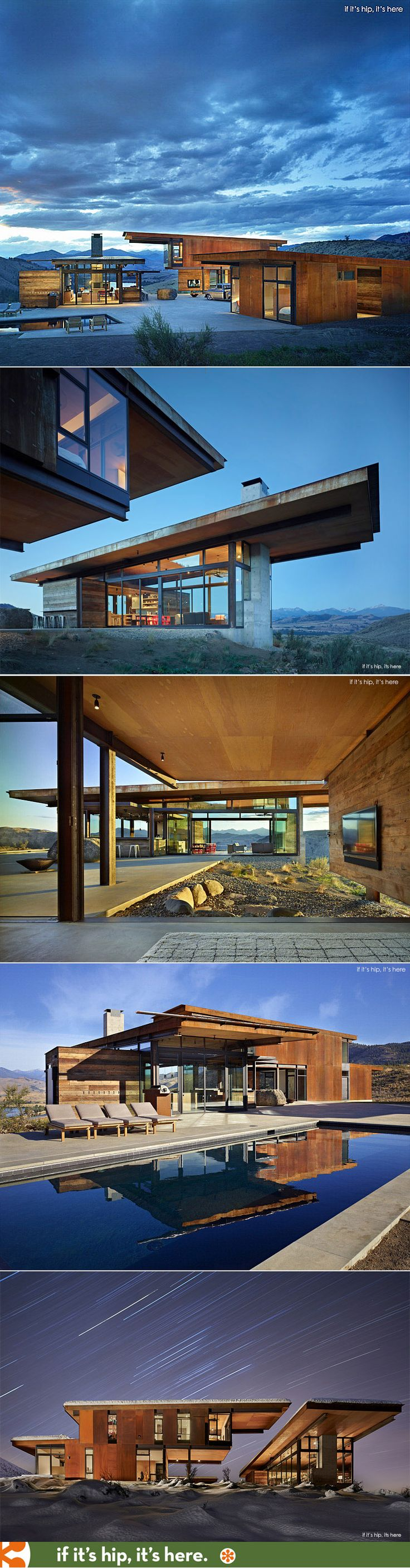 The Studhorse Mountain Compound wins 2015 AIA Housing Award for Architecture.