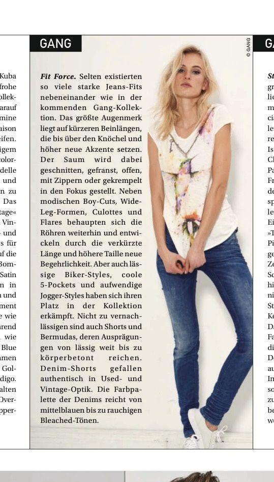 about Gang: Österreichische Textilzeitung