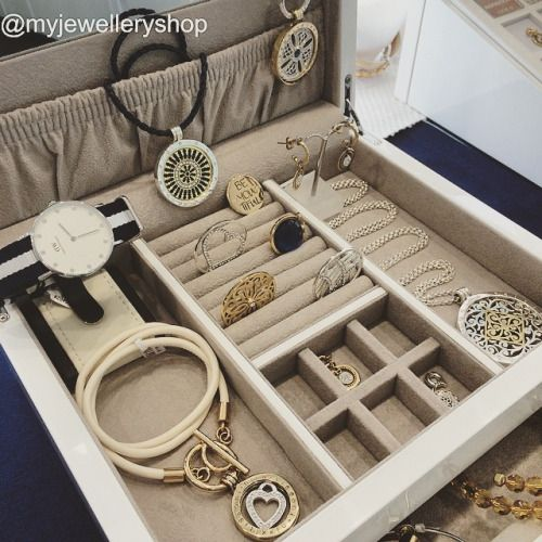 If you are a @nikkilissoniau fan you have to store them safely in one of these beautiful Jewellery boxes. Available in white silver black and Tiffany blue in various sizes myjewelleryshop