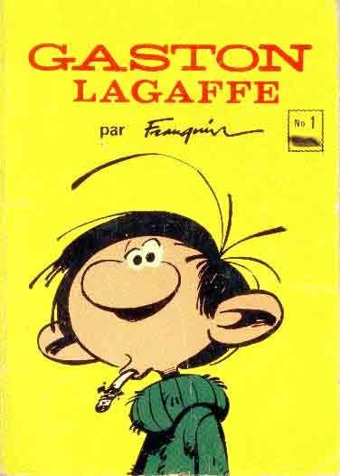 Gaston Lagaffe by André Franquin