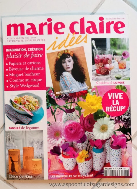 Marie Claire Idees - French Craft Magazine | A Spoonful of Sugar