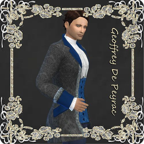 Geoffrey de Peyrac by Mich-Utopia at Sims 4 Passions via Sims 4 Updates