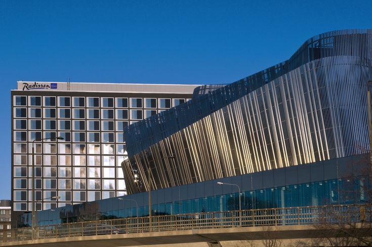 Vertical Louvers   Stockholm-Waterfront-Congress-Centre